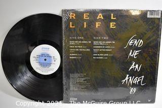 Lot of 4 Vinyl LP Records Rock Titles by Scorpions, KIX, Samantha Fox and Real Life