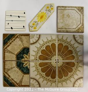 Selection of Ceramic Tiles, Various Designs and Sizes