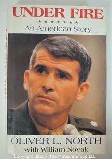 Selection of Historical and Political Hard Cover Books, Signed By The Authors.  Includes Oliver North and Tom Ridge.