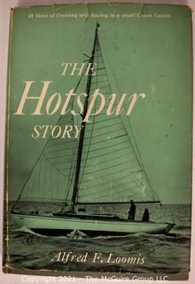 Five (5) Hard Cover Books On Maritime Sea Sailing Themes