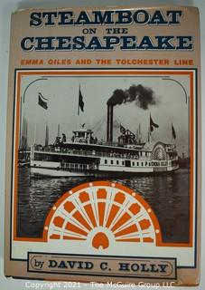 Books: Five (5) Maritime Themed Books: Steam and Boat Building