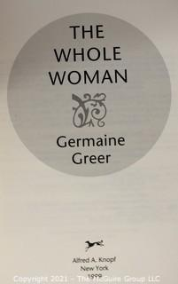 Book: Four (4) Titles With Signature / Dedications by the Authors: Germaine Greer, etc. Look at all photos