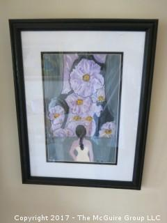 Collection of Wall Art, including originals