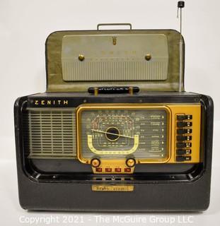 Vintage Tube Radio Zenith Trans-Oceanic - Wave Magnet H500