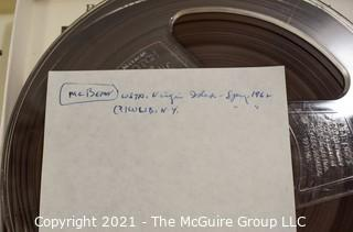 Clifford Evans: Historical Recording: Reel-to-Reel Magnetic Tape: Various MLB Stars; Danny Murtaugh, Joe Brown, Alvin McBean, Mickey Vernon, Billy Hitchcock; (unverified - presume to be as labeled)