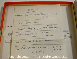 Clifford Evans: Historical Recording: Reel-to-Reel Magnetic Tape: 3/1/63 Spring Training incl. Branch; Shantz; Musial; Christopher (unverified - presume to be as labeled)
