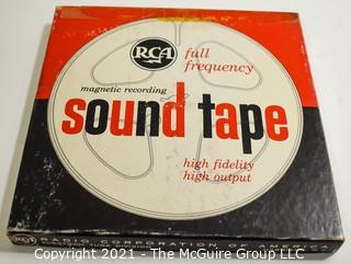 Clifford Evans: Historical Recording: Reel-to-Reel Magnetic Tape: Interview with G. Ederle; Althea Gibson; DiMaggio; Budge; Branch (unverified - presume to be as labeled)