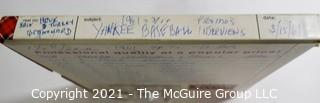 Clifford Evans: Historical Recording: Reel-to-Reel Magnetic Tape: Yankees Spring Training 3/15/61 Fla see list (unverified - presume to be as labeled)