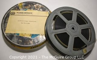 Clifford Evans: Historical Recording: 16mm film: Interview with Ted Williams (unverified - presume to be as labeled)
