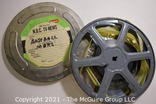 Clifford Evans: Historical Recording: 16mm film: Interview with Baseball Managers NBC TV News (unverified - presume to be as labeled)