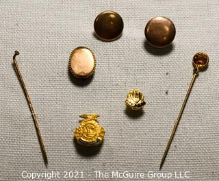 Group of Gold Filled Jewelry Items.