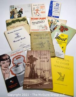 Collection of Vintage Cooking and Recipe Pamphlets