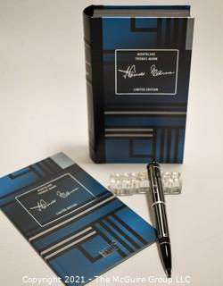 Mont Blanc Writers Edition Thomas Mann Ballpoint Pen; Model 28779; New in Box with Paperwork