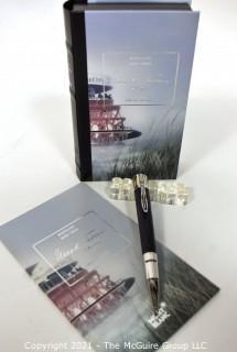 Mont Blanc Writers Edition Mark Twain Ball Point Pen #105638; New in Original Box.