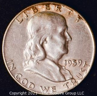 Coin: Franklin Half Dollar: 1959-D