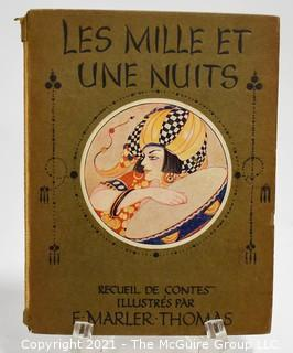 """Book: """"Les Mille et Une Nuits""""; illustrated by E. Marler Thomas"""