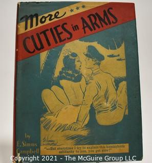 """Book: """"More Cuties in Arms"""" by E. Simms Campbell; published by David McKay Company"""