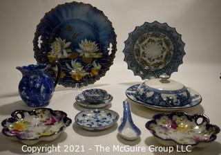 Group of Hand Painted Porcelain Items.