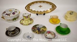 Collection of Vintage Porcelain China Items