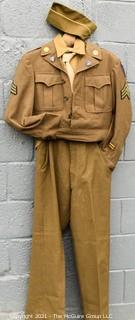 Vintage WWII Uniform with Medals.