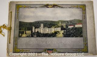 """1900 Edition of """"A Guide to West Point and the United States Military Academy"""" by William Henry Tripp."""