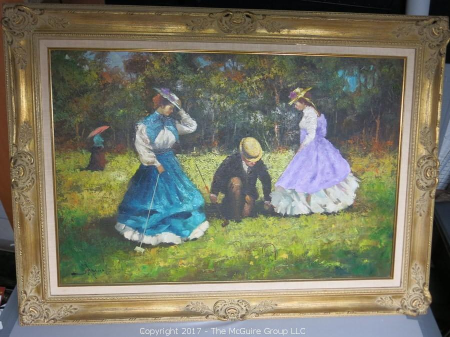 On-Line Auction: 4 Estates