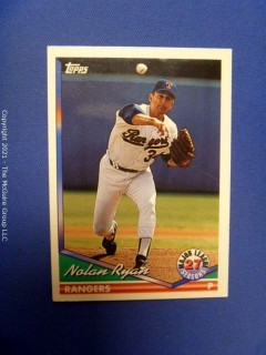 Baseball Cards: Topps and others 1990-1994  ~ 470 cards last Nolan Ryan