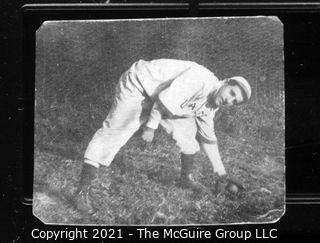 Vintage Baseball Imagery - Catch Left 1 (portion of vintage photo post card)?
