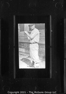 Vintage Baseball Imagery - Bat Righty 1 (portion of vintage photo post card)