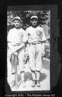 Vintage Baseball Imagery - Duo S