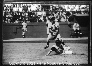 1960 Yankees-Pirates World Series: Rickerby: Frame #___; Play at Second