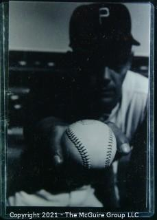 1960 World Series: Rickerby: Frame #4 Pitcher Grips the baseball