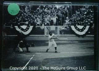 1960 World Series: Rickerby: Frame #11 Yankee Hits Baseball