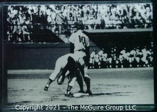 1960 World Series: Rickerby: Frame #14 Kubek Safe At Base