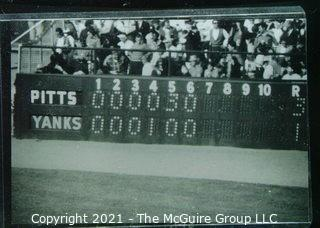 1960 World Series: Rickerby: Frame #16 6th Inning Scoreboard Game 4