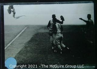 1960 World Series: Rickerby: Frame #18 Bob Otis Congratulates Vern Law at end of Game 4