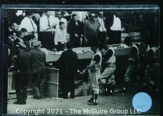 1960 World Series: Rickerby: Frame #24 Dejected Pittsburgh Dugout