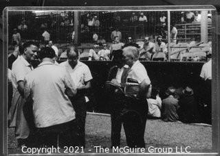 1960 World Series: Rickerby: Frame #7 Pregame Gathering at Home Plate