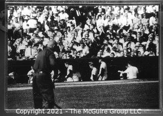 1960 World Series: Rickerby: Frame #18 Team Dugout
