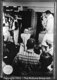1960 World Series: Rickerby: Frame #20 Post Game Locker Room Pittsburgh