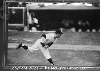 1960 World Series: Rickerby: Frame #14 Whitey Ford Pitching