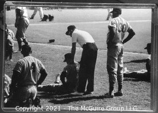 Rickerby: Baseball: Frame#8? Pregame field warm ups