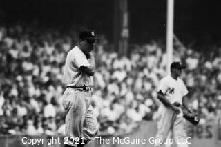1960 World Series: Rickerby: Negatives Only: Yankee Field Coach