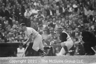 1960 World Series: Rickerby: Negatives Only: Yankee Hit Grouping