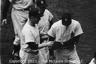 1960 World Series: Rickerby: Negatives Only: Handshakes After a Win