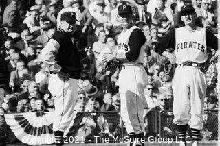 1960 World Series: Rickerby: Negatives Only: Pittsburgh Pitching Change