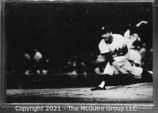 1960 World Series: Rickerby: Frame #14 Yankee Pitcher Follow-thru