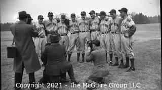 Vintage Baseball Negative: Yankee Pitchers