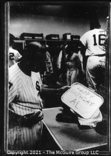 Rickerby: Negatives Only: White Sox Locker Room; Happy Birthday Al