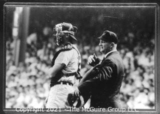1960 World Series: Rickerby: Frame #5 Catcher and HP Umpire